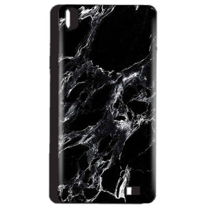 Reliance Lyf Water 4 Mobile Covers Cases Pure Black Marble Texture - Lowest Price - Paybydaddy.com