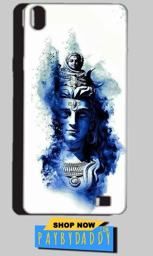 Reliance Lyf Water 4 Mobile Covers Cases Shiva Blue White - Lowest Price - Paybydaddy.com