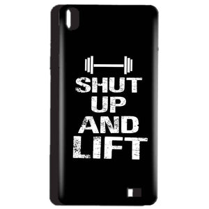 Reliance Lyf Water 4 Mobile Covers Cases Shut Up And Lift - Lowest Price - Paybydaddy.com