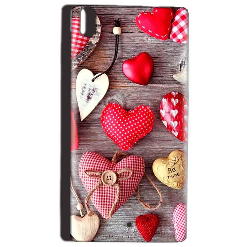Reliance Lyf Water 5 Mobile Covers Cases Hearts- Lowest Price - Paybydaddy.com
