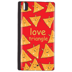 Reliance Lyf Water 5 Mobile Covers Cases Love Triangle - Lowest Price - Paybydaddy.com