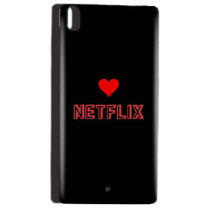 Reliance Lyf Water 5 Mobile Covers Cases NETFLIX WITH HEART - Lowest Price - Paybydaddy.com