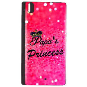 Reliance Lyf Water 5 Mobile Covers Cases PAPA PRINCESS - Lowest Price - Paybydaddy.com