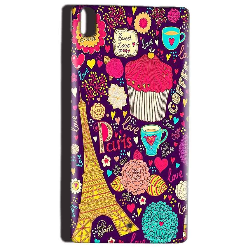 Reliance Lyf Water 5 Mobile Covers Cases Paris Sweet love - Lowest Price - Paybydaddy.com
