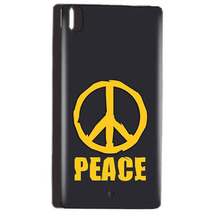 Reliance Lyf Water 5 Mobile Covers Cases Peace Blue Yellow - Lowest Price - Paybydaddy.com
