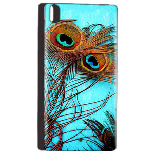 Reliance Lyf Water 5 Mobile Covers Cases Peacock blue wings - Lowest Price - Paybydaddy.com
