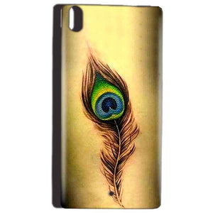 Reliance Lyf Water 5 Mobile Covers Cases Peacock coloured art - Lowest Price - Paybydaddy.com