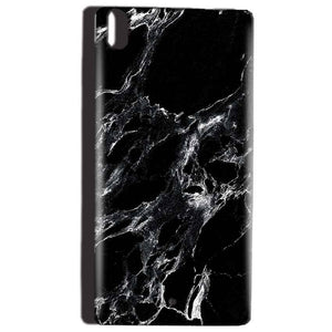 Reliance Lyf Water 5 Mobile Covers Cases Pure Black Marble Texture - Lowest Price - Paybydaddy.com