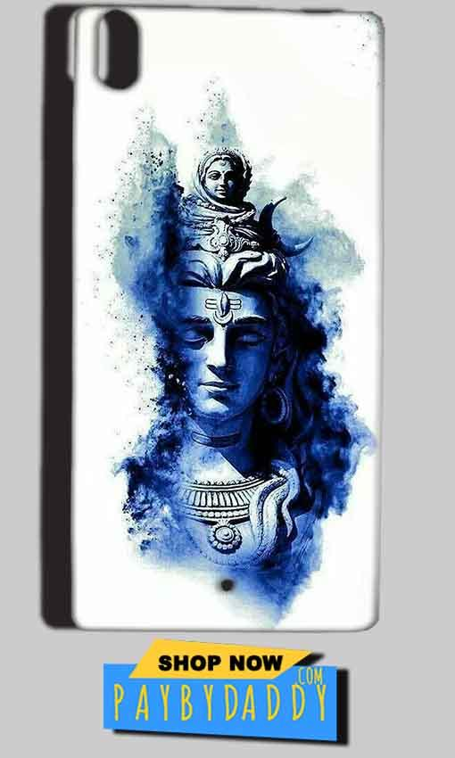 Reliance Lyf Water 5 Mobile Covers Cases Shiva Blue White - Lowest Price - Paybydaddy.com