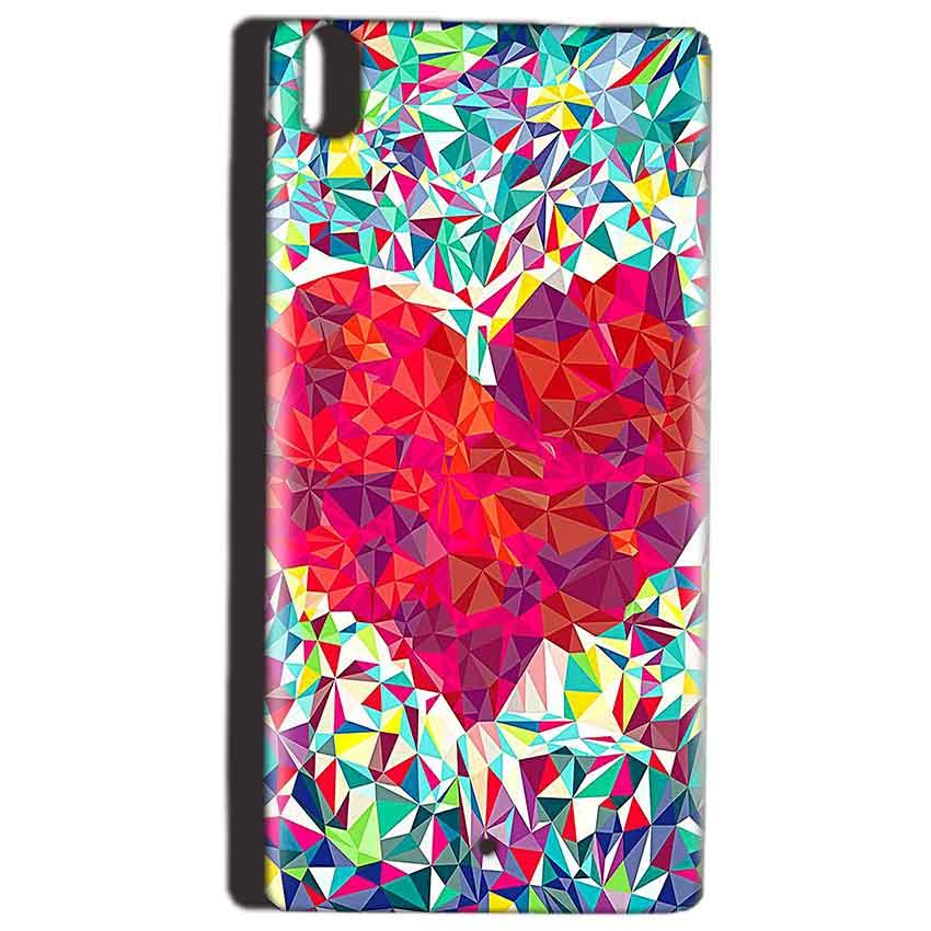 Reliance Lyf Water 5 Mobile Covers Cases heart Prisma design - Lowest Price - Paybydaddy.com