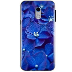 Reliance Lyf Water 7 Mobile Covers Cases Blue flower - Lowest Price - Paybydaddy.com