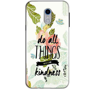 Reliance Lyf Water 7 Mobile Covers Cases Do all things with kindness - Lowest Price - Paybydaddy.com