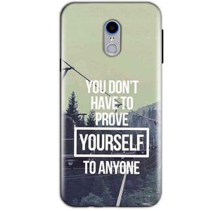 Reliance Lyf Water 7 Mobile Covers Cases Donot Prove yourself - Lowest Price - Paybydaddy.com