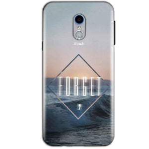 Reliance Lyf Water 7 Mobile Covers Cases Forget Quote Something Different - Lowest Price - Paybydaddy.com