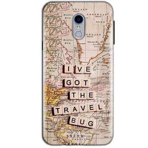 Reliance Lyf Water 7 Mobile Covers Cases Live Travel Bug - Lowest Price - Paybydaddy.com