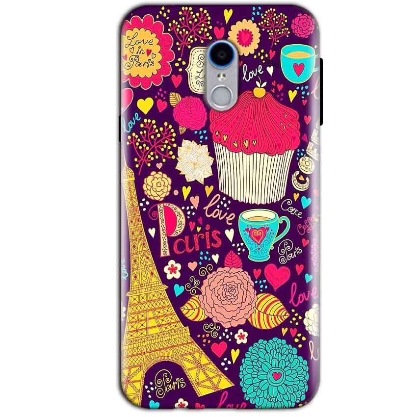 Reliance Lyf Water 7 Mobile Covers Cases Paris Sweet love - Lowest Price - Paybydaddy.com