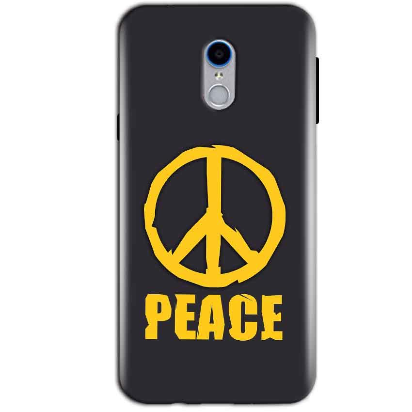 Reliance Lyf Water 7 Mobile Covers Cases Peace Blue Yellow - Lowest Price - Paybydaddy.com