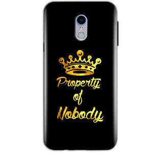Reliance Lyf Water 7 Mobile Covers Cases Property of nobody with Crown - Lowest Price - Paybydaddy.com