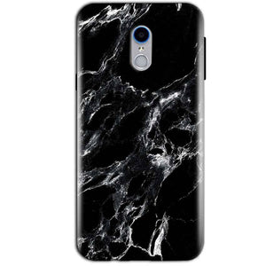 Reliance Lyf Water 7 Mobile Covers Cases Pure Black Marble Texture - Lowest Price - Paybydaddy.com