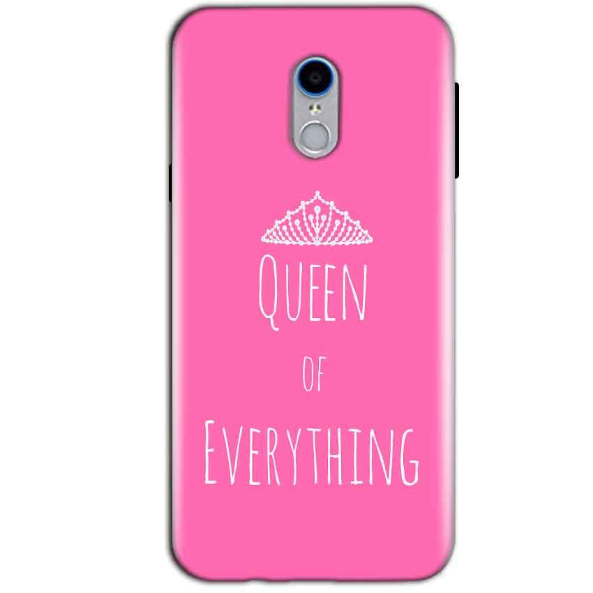 Reliance Lyf Water 7 Mobile Covers Cases Queen Of Everything Pink White - Lowest Price - Paybydaddy.com
