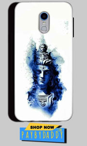 Reliance Lyf Water 7 Mobile Covers Cases Shiva Blue White - Lowest Price - Paybydaddy.com