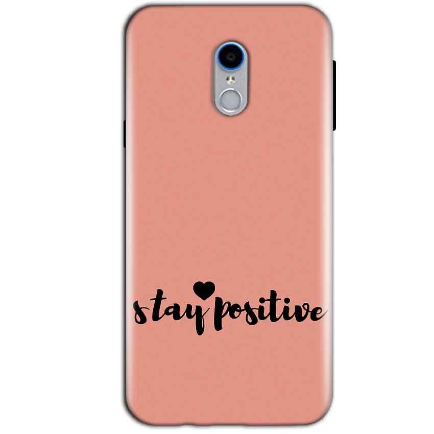 Reliance Lyf Water 7 Mobile Covers Cases Stay Positive - Lowest Price - Paybydaddy.com