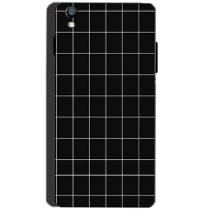 Reliance Lyf Water 8 Mobile Covers Cases Black with White Checks - Lowest Price - Paybydaddy.com