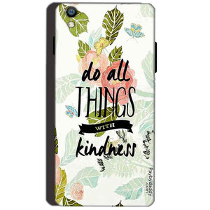 Reliance Lyf Water 8 Mobile Covers Cases Do all things with kindness - Lowest Price - Paybydaddy.com