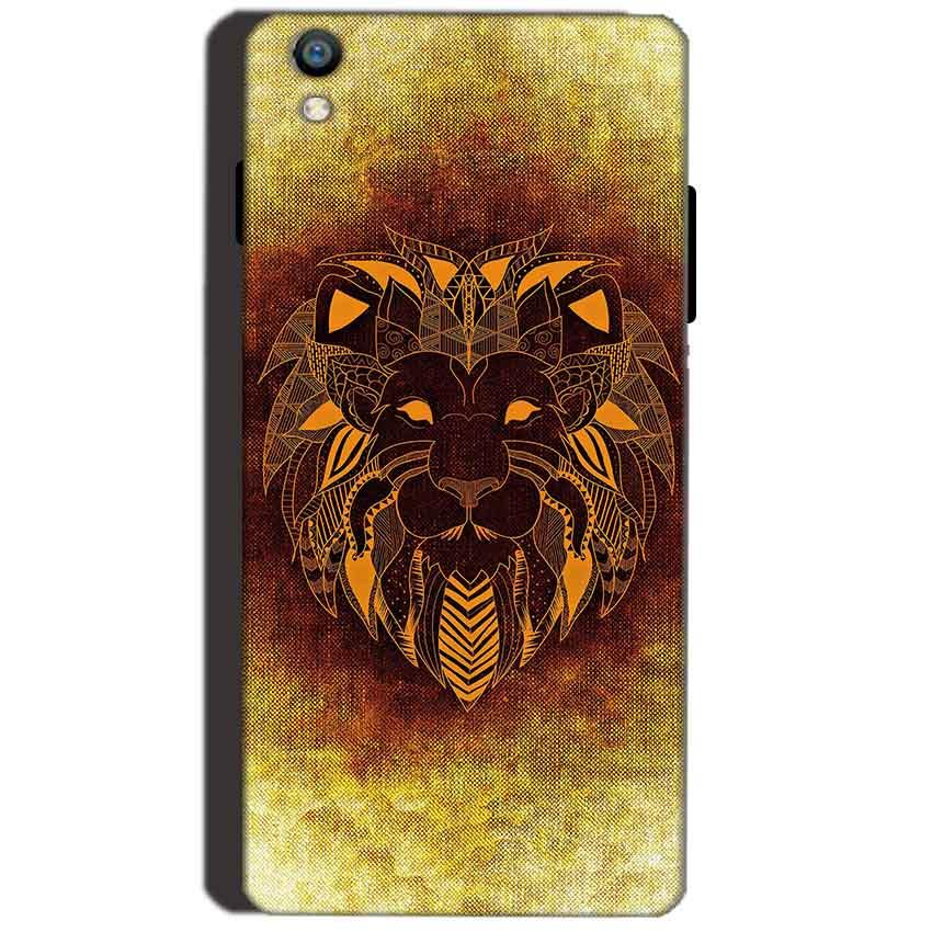 Reliance Lyf Water 8 Mobile Covers Cases Lion face art - Lowest Price - Paybydaddy.com