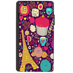 Reliance Lyf Water 8 Mobile Covers Cases Paris Sweet love - Lowest Price - Paybydaddy.com