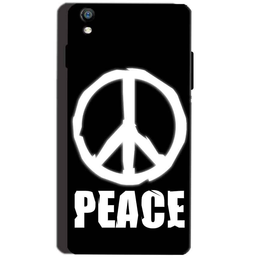 Reliance Lyf Water 8 Mobile Covers Cases Peace Sign In White - Lowest Price - Paybydaddy.com