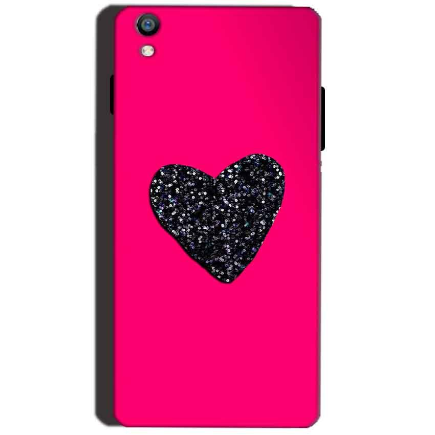Reliance Lyf Water 8 Mobile Covers Cases Pink Glitter Heart - Lowest Price - Paybydaddy.com