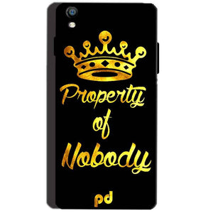 Reliance Lyf Water 8 Mobile Covers Cases Property of nobody with Crown - Lowest Price - Paybydaddy.com