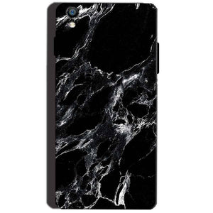 Reliance Lyf Water 8 Mobile Covers Cases Pure Black Marble Texture - Lowest Price - Paybydaddy.com