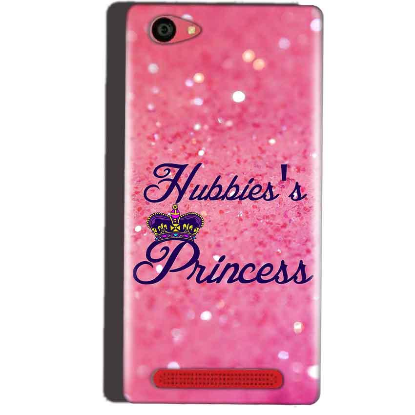 Reliance Lyf Wind 7 Mobile Covers Cases Hubbies Princess - Lowest Price - Paybydaddy.com