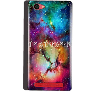 Reliance Lyf Wind 7 Mobile Covers Cases I am Dreamer - Lowest Price - Paybydaddy.com