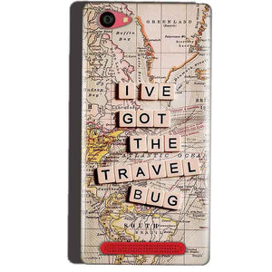 Reliance Lyf Wind 7 Mobile Covers Cases Live Travel Bug - Lowest Price - Paybydaddy.com