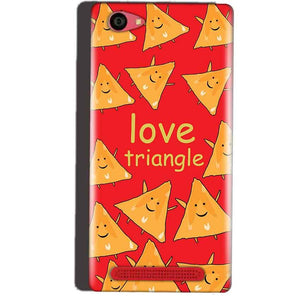 Reliance Lyf Wind 7 Mobile Covers Cases Love Triangle - Lowest Price - Paybydaddy.com