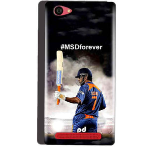 Reliance Lyf Wind 7 Mobile Covers Cases MS dhoni Forever - Lowest Price - Paybydaddy.com