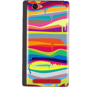 Reliance Lyf Wind 7 Mobile Covers Cases Melted colours - Lowest Price - Paybydaddy.com