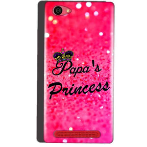 Reliance Lyf Wind 7 Mobile Covers Cases PAPA PRINCESS - Lowest Price - Paybydaddy.com