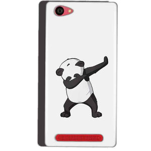 Reliance Lyf Wind 7 Mobile Covers Cases Panda Dab - Lowest Price - Paybydaddy.com