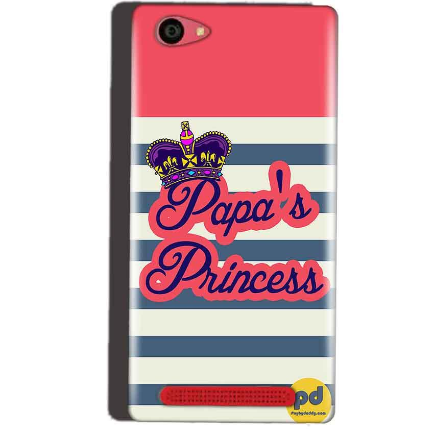 Reliance Lyf Wind 7 Mobile Covers Cases Papas Princess - Lowest Price - Paybydaddy.com