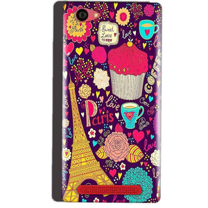 Reliance Lyf Wind 7 Mobile Covers Cases Paris Sweet love - Lowest Price - Paybydaddy.com