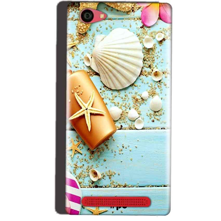 Reliance Lyf Wind 7 Mobile Covers Cases Pearl Star Fish - Lowest Price - Paybydaddy.com
