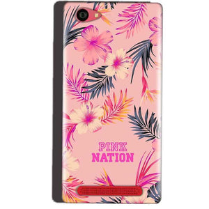 Reliance Lyf Wind 7 Mobile Covers Cases Pink nation - Lowest Price - Paybydaddy.com