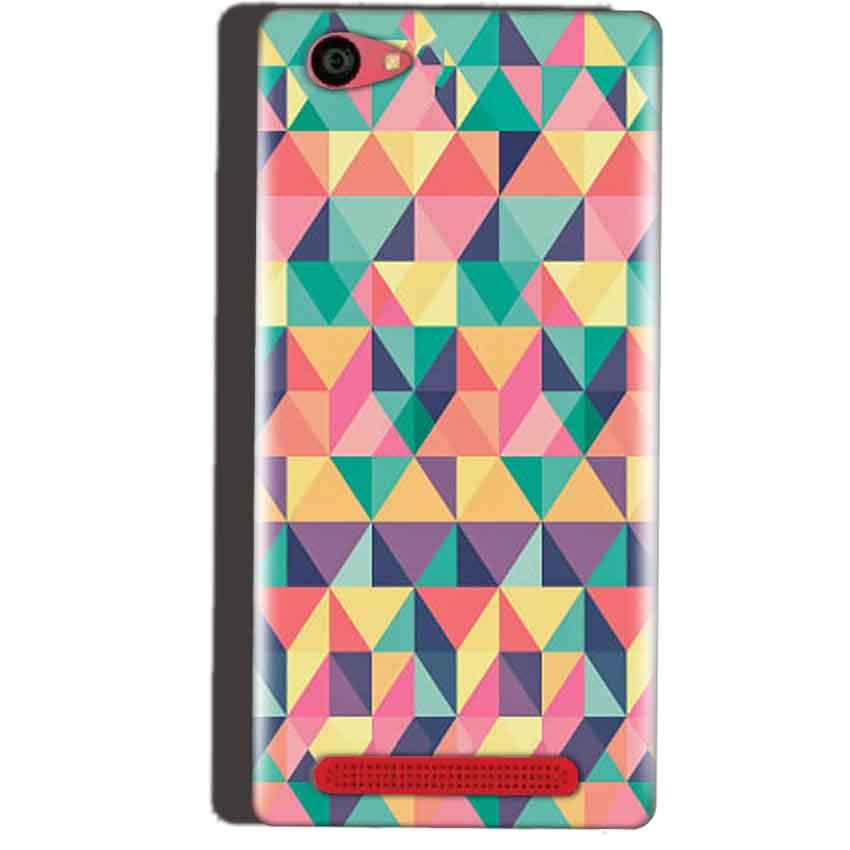 Reliance Lyf Wind 7 Mobile Covers Cases Prisma coloured design - Lowest Price - Paybydaddy.com
