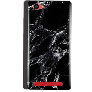 Reliance Lyf Wind 7 Mobile Covers Cases Pure Black Marble Texture - Lowest Price - Paybydaddy.com