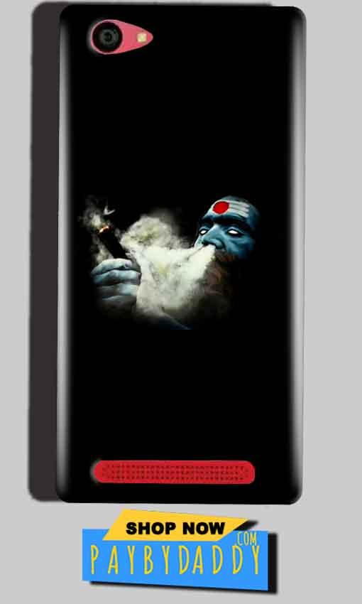 Reliance Lyf Wind 7 Mobile Covers Cases Shiva Aghori Smoking - Lowest Price - Paybydaddy.com
