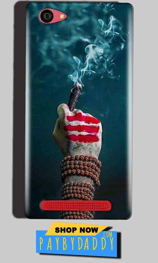 Reliance Lyf Wind 7 Mobile Covers Cases Shiva Hand With Clilam - Lowest Price - Paybydaddy.com